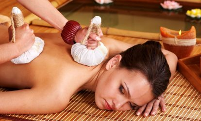 Thai Herbal Poultice Massage